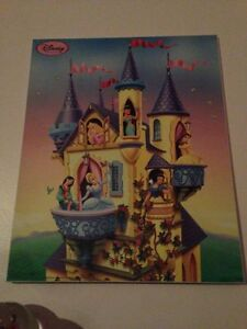 Disney Princess picture illuminated 11x15 in like new condition!
