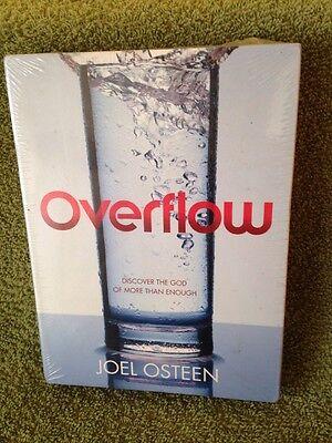 Overflow By Joel Osteen CD/DVD New Set