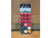 Set of BCA snooker balls **NEW**