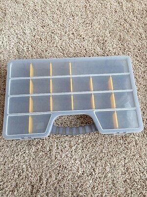 The Container Store Storage Box Adjustable Plastic Container  Organizer Craft