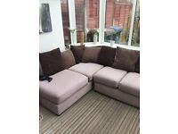 NEW JOHN LEWIS CORNER SOFA CAN DELIVER FREE TODAY