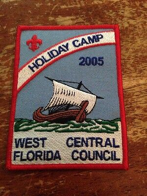 West Central Florida Council 2005 Holiday Camp Viking Ship BSA Boy Scouts D-263 - Holiday Boys Weste