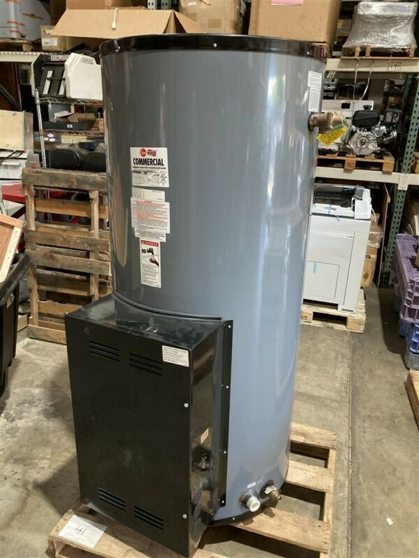 New Rheem ES120-6-G 120 Gal Commercial Electric Water Heater 208v 1 or 3 Phase