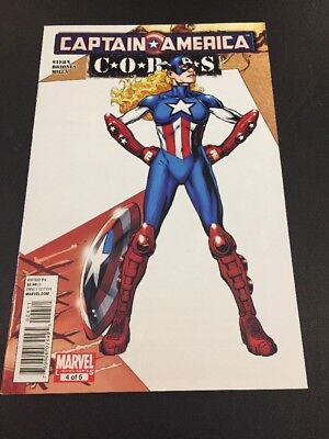 CB18 Captain America Limited Series 4 Of 5