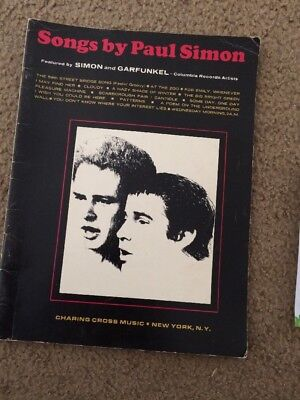 SONGS BY PAUL SIMON MUSIC BOOK