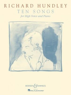 Richard Hundley Ten Songs for High Voice and Piano Voice NEW 048018764