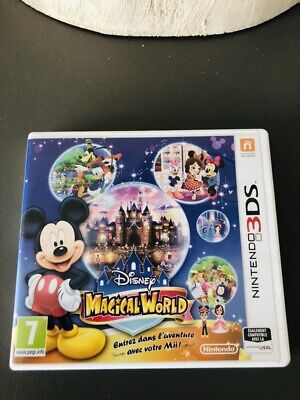 Jeu Magical World Disney Nintendo 3DS 2DS excellent ETAT Avec Boîtier Fr segunda mano  Embacar hacia Spain