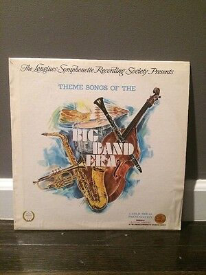 Various ‎– Theme Songs Of The Big Band Era 1973 LP, Longines Symphonette Society