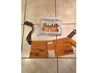 Leather tool belt NEW