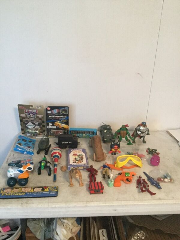 Junk Drawer Lot Of Assorted Toys