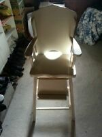 Chaise haute antique - Antique high chair