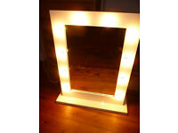 Hollywood MAKE UP mirror illuminated with 25 lights