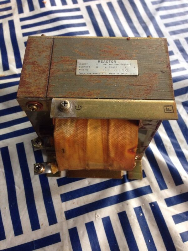 1PC USED GE Fanuc Line Reactor Transformer, A81L-0001-0036-04