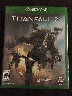 Titanfall 2 (Microsoft Xbox One, 2016) Brand New Sealed!