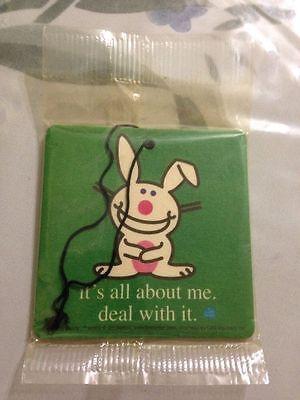 It's Happy Bunny Air Freshener, NEW