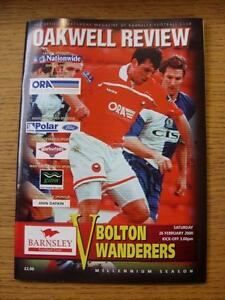 26-02-2000-Barnsley-v-Bolton-Wanderers-No-Apparent-Faults