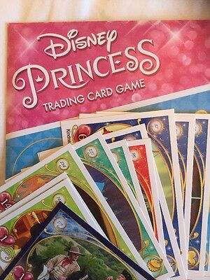 Topps Disney Princess Trading Card Game - 6 Cards and FREE P&P