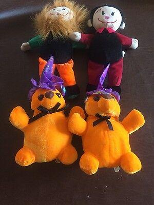 Lot Of 4 Halloween  8