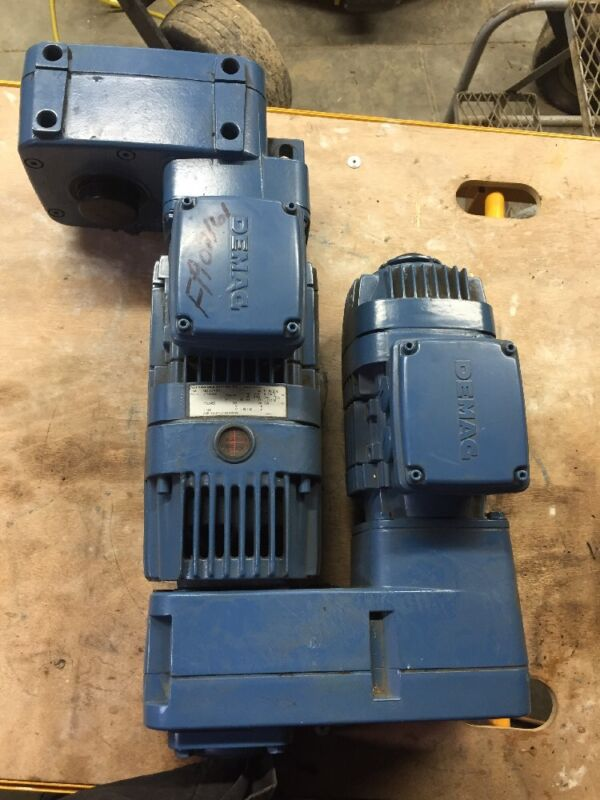 MANNESMANN DEMAG FG06 Dual Motor MICROSPEED GEARBOX MOTOR UNIT NEW CONDITION