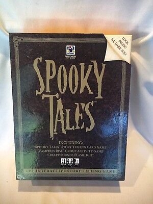 Halloween Kid Stories Interactive (B16) Spooky Tales Interactive Story Telling Card Game Sleepover HaLLoWeeN)