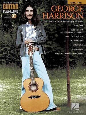 George Harrison Sheet Music Guitar Play-Along Book and Audio NEW 000237697