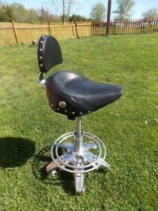 Motorcycle seat bar stools