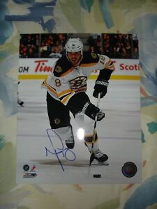 BOSTON BRUINS AUTOGRAPHED PHOTOS AND PUCKS Edmonton Edmonton Area image 2