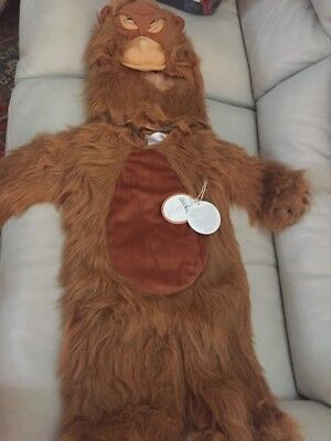 2pc Pottery Barn Kids Halloween Costume WWF Orangutan Monkey 3T (Monkey Costume 3t)