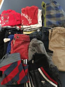 Lot vêtements garçon 5-6 ans