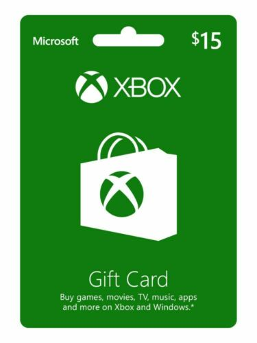 $15 XBOX Live $15 USD Gift Card - XBOX ONE and 360 - USA ONLY - 3% discount