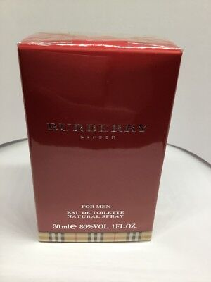 Burberry Original for Men 100ml EDT Spray Retail Boxed And Sealed