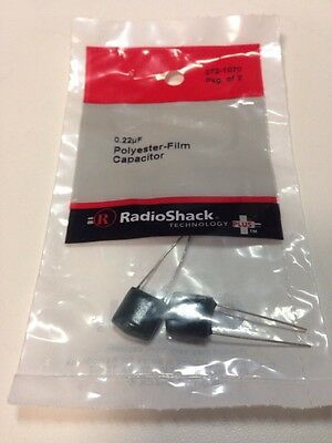 0.22uf Polyester-film Capacitor 272-1070 By Radioshack