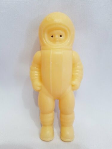 Old Vintage Soviet USSR Russian Plastic Toy Doll Cosmonaut Space Prickly 1960
