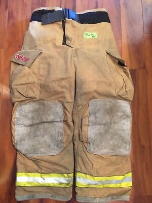 Firefighter Bunker Turnout Gear Pants Globe 38x30 G Extreme Costume 2005