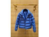 Brand Dior Puffer Jacket Blue