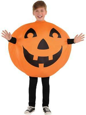 Child Inflatable Jack-O-Lantern Pumpkin Fancy Dress Costume Boys Girls (Jack O Lantern Kostüme)