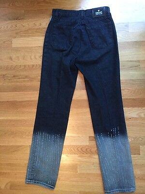 "Stunning Women's Versace 28 Denim Jeans. Inseam 34"". EUC!! W2"