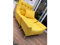 #NEW# Occasional chair & matching footstool