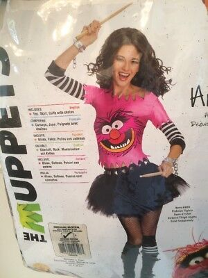 The Muppets ANIMAL Adult Women's Costume - Size M (6-10)  - NEW! - Animal Muppets Costume