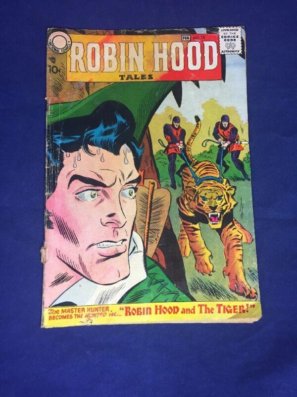 Robin Hood Tales 13, 1958 National Comics **Rare***