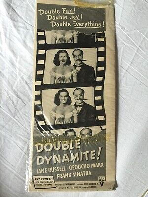 1951 Double Dynamite Movie Ad - Jane Russell And Groucho Marx