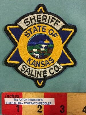 Police / Law Enforcement / Security Patch ~ SHERIFF SALINE COUNTY KANSAS 5NU3