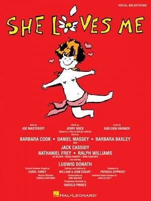She Loves Me Sheet Music Piano Vocal Selections Vocal Selections Book 000313320