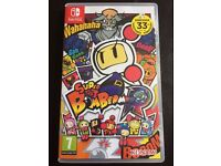 Super Bomberman R Nintendo Switch New