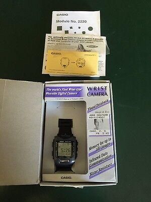 Vintage Casio Wrist Camera WQV-1 2220 with Box