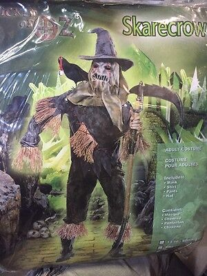 paper magic group skarecrow costume Size large