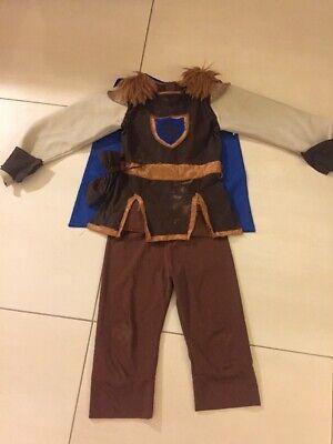 Königliches Ritter Kostüm 3-teilig Kinder 98/104