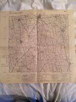 Cartina Militare Del Comune Di Caravaggio (bg), Anno 1931 -  - ebay.it