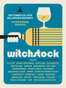 Bellwoods Witchstock Beer Festival Tickets