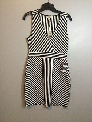 Ya Los Angeles Black White Curvy Dress Size Large